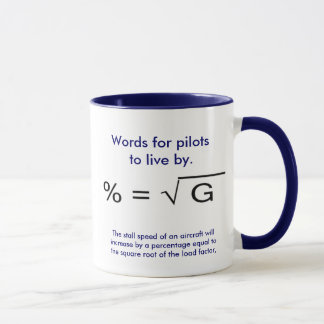 Words for pilots to live by mug