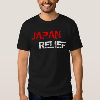 Words Japan Relief Tshirt