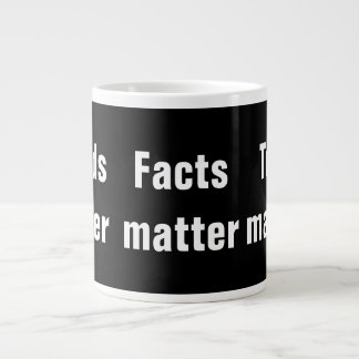 Words Matter Facts Matter Truth Matters Large Coffee Mug