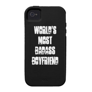 Word's Most Badass Boyfriend Case-Mate iPhone 4 Cover