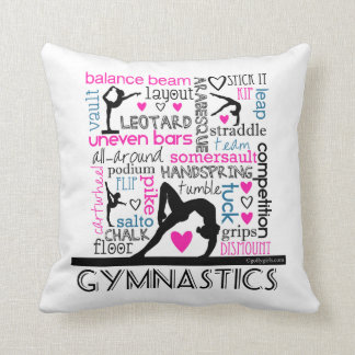 Words of Gymnastics Terminology Cushion