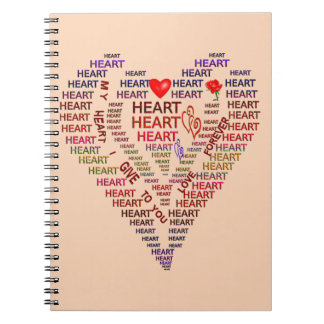 Words of Heart Photo Notebook