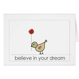 words of hope card