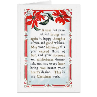 Words Of Kindness & Blessing Card