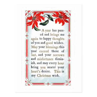 Words Of Kindness & Blessing Postcard