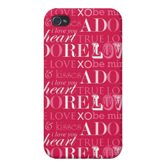 Words of Love iPhone4 Case iPhone 4 Cover