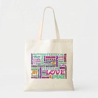 Words Of The Spirit Way Budget Tote Bag