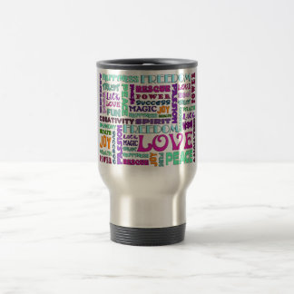 Words Of The Spirit Way Stainless Steel Travel Mug