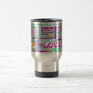 Words Of The Spirit Way Stainless Steel Travel Mug