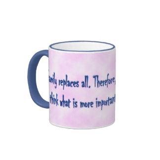 Words of wisdom 13 ringer mug