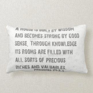 Words of Wisdom Pillow
