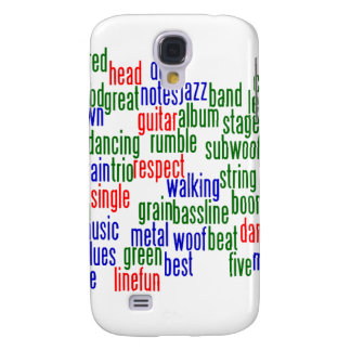 Words related to playing bass, red blue green galaxy s4 case