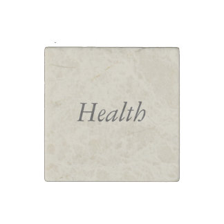 Words to inspire healthy choices in the kitchen stone magnet