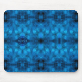 """Words to Live By: """"ILLUMINATE"""" Affirmation Art Mouse Mat"""