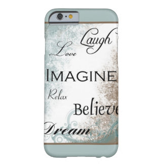 Words to Live By iPhone 6 case Barely There iPhone 6 Case