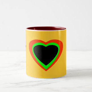 Words To Live By Two-Tone Mug