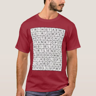 wordsearch T-Shirt