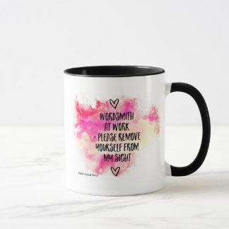 Wordsmith At Work Mug
