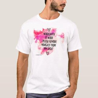 Wordsmith At Work T-Shirt