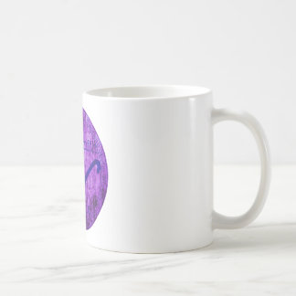 Wordsmith Studio Purlple Navy Coffee Mugs