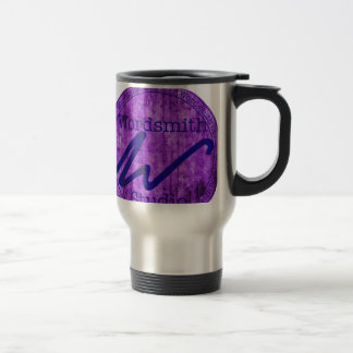 Wordsmith Studio Purlple Navy Mugs