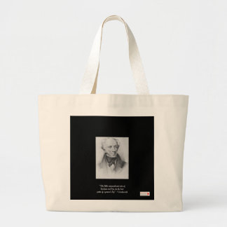 "Wordsworth ""Little Acts"" Quote Organic Canvas Bag"