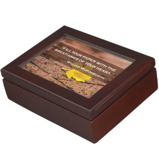 Wordsworth Quote Keepsake Box