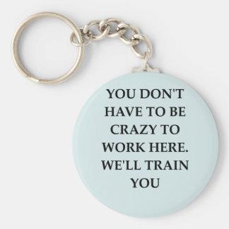 WORK2.png Basic Round Button Key Ring