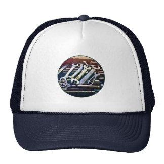 Work Bench in Machine Shop Mesh Hat