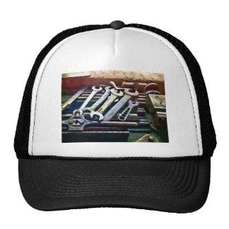 Work Bench in Machine Shop Trucker Hat