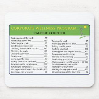 Work Calories Mousepad