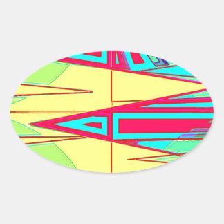 Work Force Oval Sticker