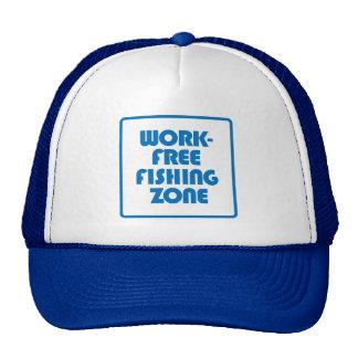 Work Free Fishing Zone Cap