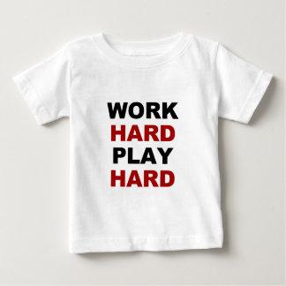 Work Hard alt.png Baby T-Shirt