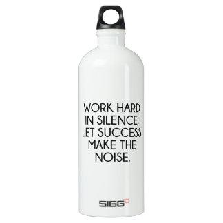 Work Hard In Silence; Let Succes Make The Noise SIGG Traveller 1.0L Water Bottle