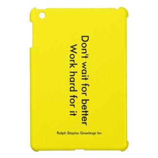 Work Hard iPad Mini Cover