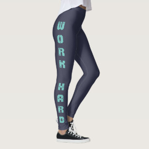 1915435d140d2 Women's Working Hard Leggings & Tights | Zazzle UK