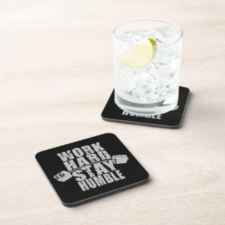 Work Hard, Stay Humble - Workout Motivational Coasters