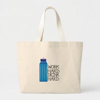 Work Hard Jumbo Tote Bag