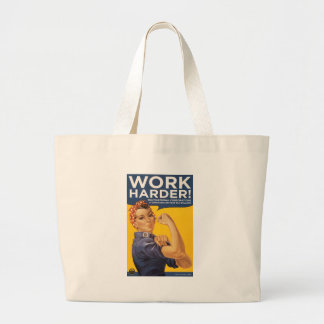 Work Harder! Corporations need your bailout money! Jumbo Tote Bag