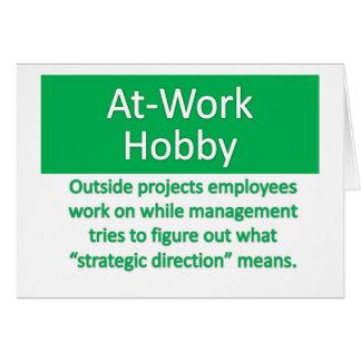 Work Hobby Card
