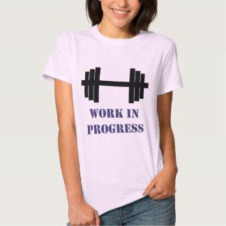 Work In Progress Gym Shirt