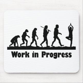 Work in Progress (Yoga) Mouse Mat