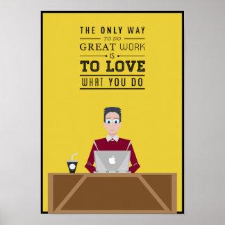 Work Inspiration Poster