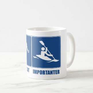 Work Is Important, Kayaking Is Importanter Coffee Mug