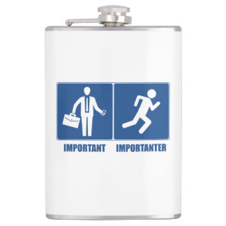 Work Is Important, Running Is Importanter Flasks