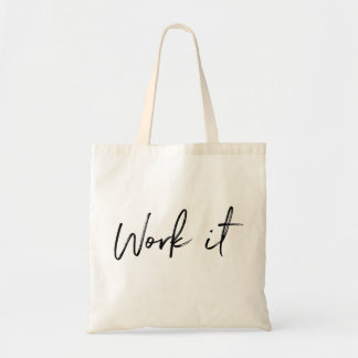 Work It Gym Tote