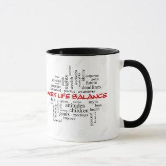 Work life balances mug