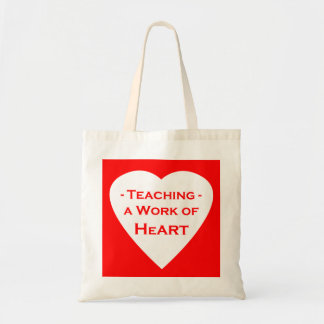 Work of Heart Budget Tote Bag