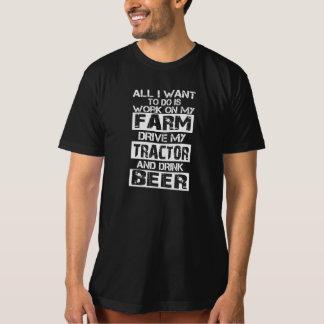 Work on my farm tshirt